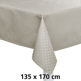 Tischdecke Casa silber 135x170