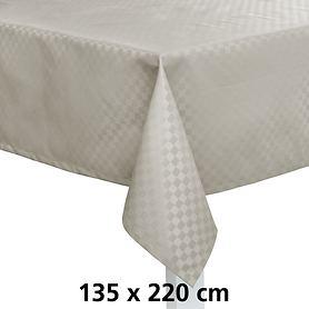Tischdecke Casa silber 135x220