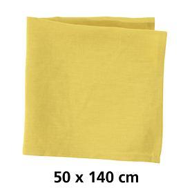 Tischläufer Linnen gelb