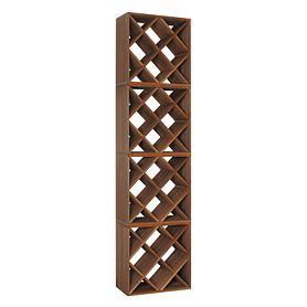 4er-Set Weinregal 50 cm, Modul RAUTE Set besteht aus: