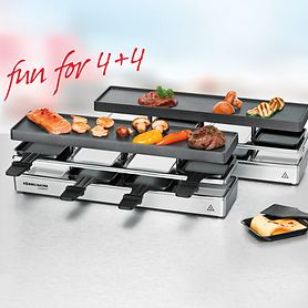 Raclette-Grill 4+4 RC 1600