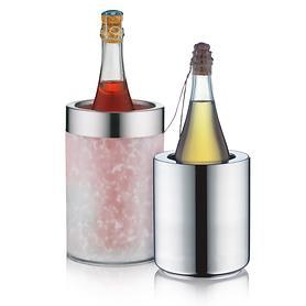 Flaschenkühler Crystal und icePod