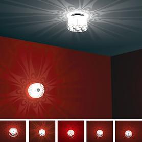Decken- / Wand-Effektleuchten Shining