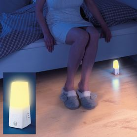 LED-Nachtlicht mit Bewegungsmelder, 2er-Set
