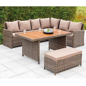 Dining-Lounge-Sets Rivello und Rimella