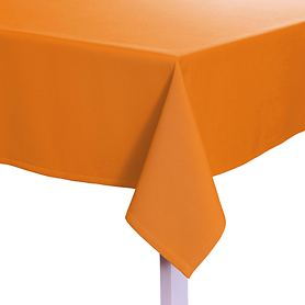 Tischdecke Como orange D 170