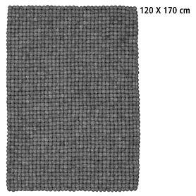 Design-Filzkugel-Teppich Hugo 120x170 cm