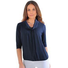 Shirt Leyla marine Gr. 36