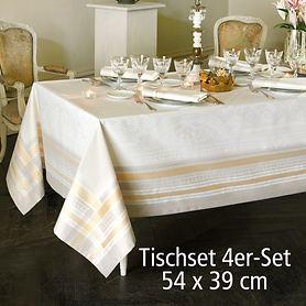 Tischset 4er-Set Galerie 54x39