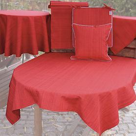 Strapazierfähige, pflegeleichte Tischdecken & Sitzkissen
