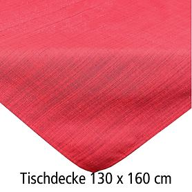 Tischdecke Outdoor rot 130x160
