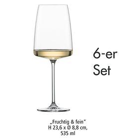 Weinglas Fruchtig & fein 6er-Set