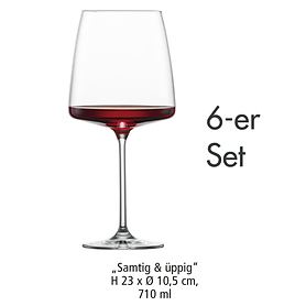 Weinglas Samtig & Üppig 6er-Set