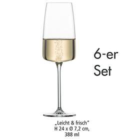 Sektglas Leicht & frisch 6er-Set