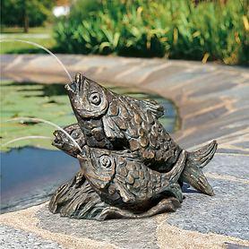 Skulptur Fische