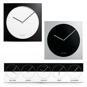 Uhr Dimension & Weltzeituhr World