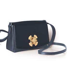 Handtasche Louise dblau 20cm