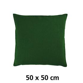 Kissenhülle Linnen grün (unifarben)