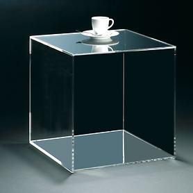 Acryl-Beistelltische Cube
