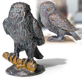 Skulpturen Eule