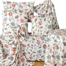 Textil-Serie Blumenmotiv
