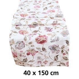 Tischläufer Blumenmotiv 40x150cm