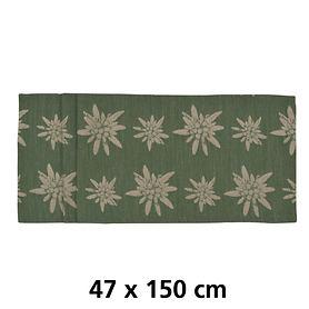 Tischläufer Alpina grün