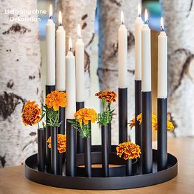 Kerzenständer, rund