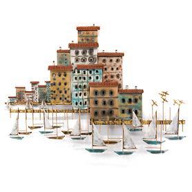 Wandskulptur Portofino