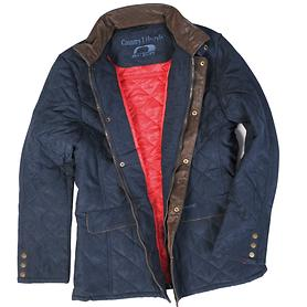 Steppjacke Hatfield navy, Gr. M