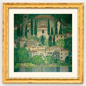 Bild 'Kirche in Cassone am Gardasee'