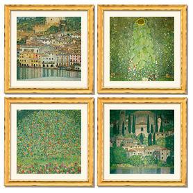 Landschaftsbilder-4er Set