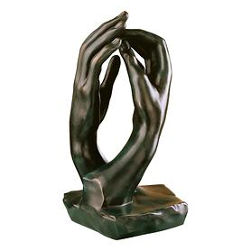 Skulptur 'Die Kathedrale' Bronze