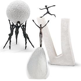 Bronze-Skulpturen