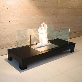 Augen auf: Feuerstelle Floor Flame schwarz / Deal