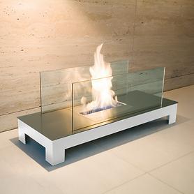 Angesehen: Feuerstelle Floor Flame weiß