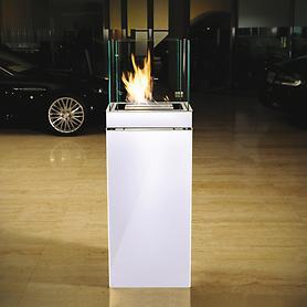 Feuerstelle High Flame weiß Info