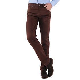 5-Pocket-Hose Levin bordeaux Gr. 50 Inch 34/32
