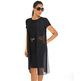 Kleid Enisa schwarz Gr. 36