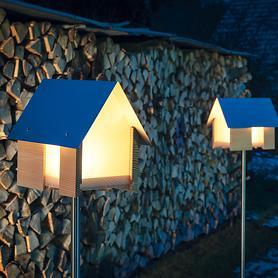 Lichthaus & LED-Kerze mit Fernbedienung