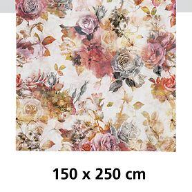 Tischdecke Fall rot/rose 250x150