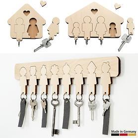 Schlüsselbretter Paar, Familie und WG