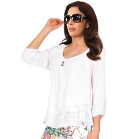 Shirt Summer Breeze off-white, Gr. 44