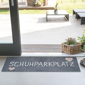 Fußmatte Schuhparkplatz