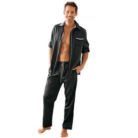 Herren-Pyjama Rafael anthrazit