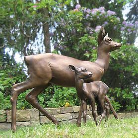 Skulpturen Reh