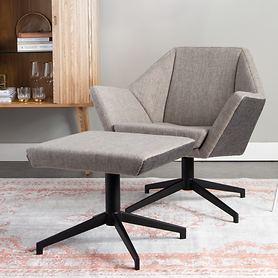 Lounge-Sessel und -Hocker Uncle Jesse