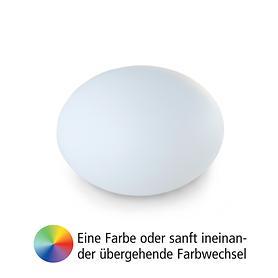 Akku-Leuchte Flatball M, D:35 x 27cm