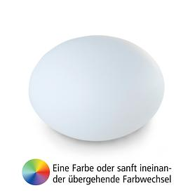 Akku-Leuchte Flatball L, D:50 x 36cm