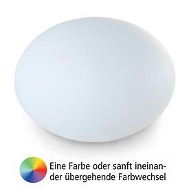 Akku-Leuchte Flatball XL, D:70 x 52cm